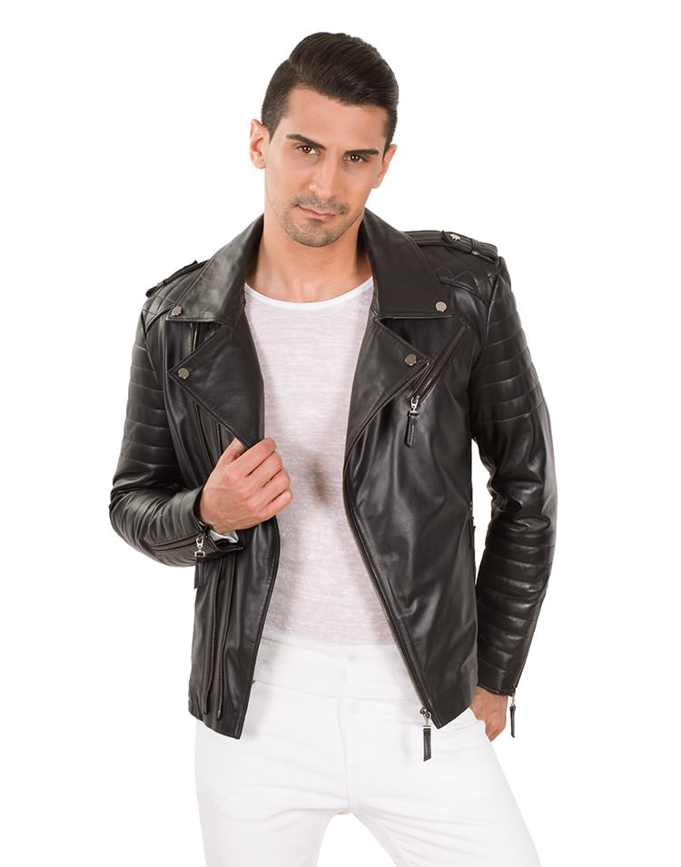 BODO MEN LEATHER JACKET