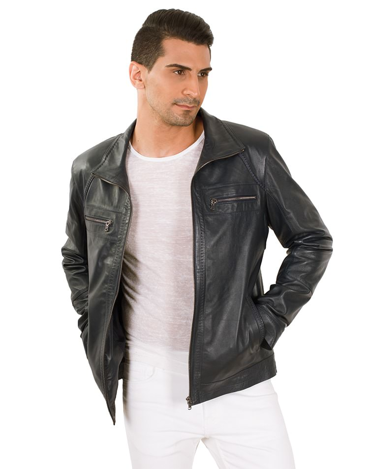 ALDO MEN LEATHER JACKET