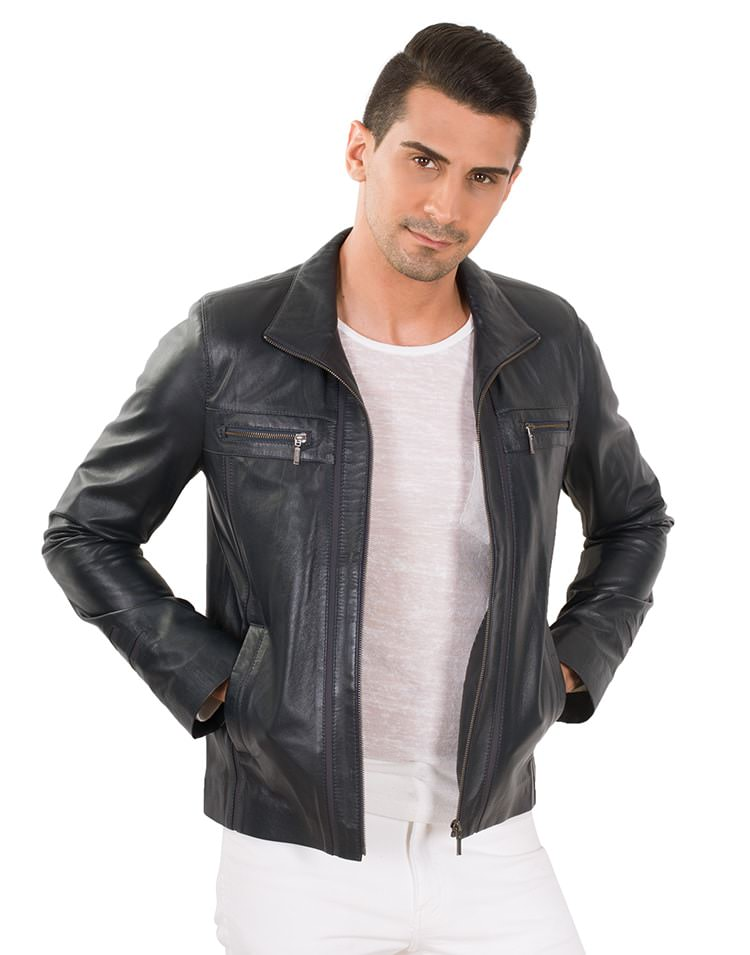 CARLO MEN LEATHER JACKET