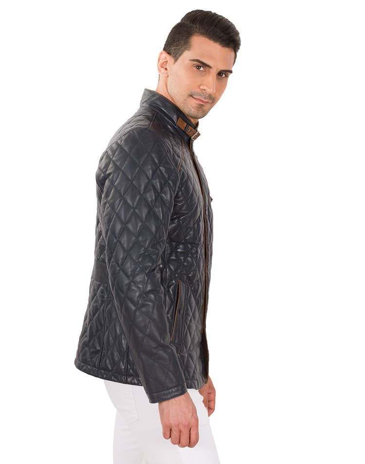 DOLCİ MEN LEATHER JACKET