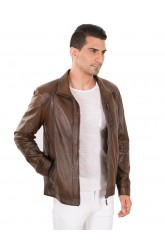 JERRY MEN LEATHER JACKET