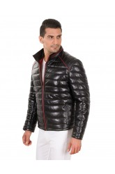 SANTO MEN LEATHER JACKET