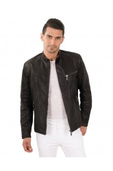 LIMITED EDITION SNAKE MEN LEATHER JACKET