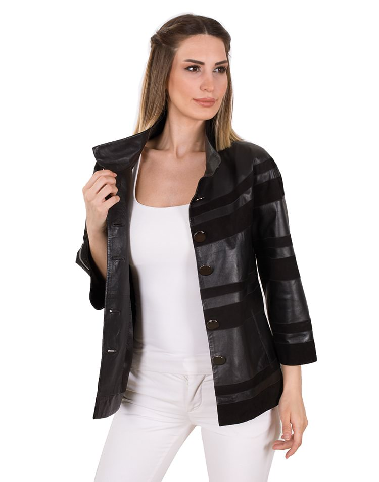 JOLIIE WOMEN LEATHER JACKET