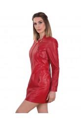 SOUL WOMEN LEATHER DRESS