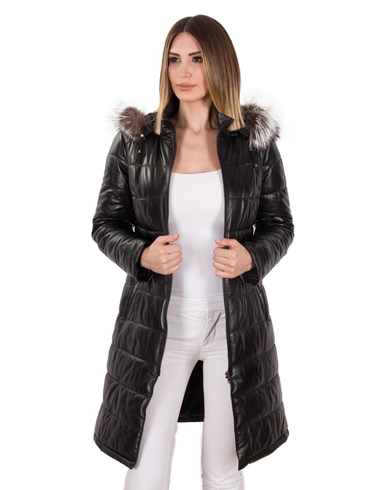EIFFEL LONG WOMEN LEATHER JACKET