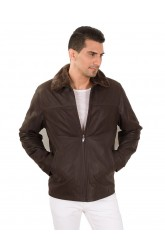 FALCON MEN LEATHER JACKET