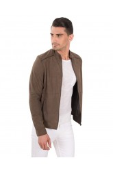 NAPATO MEN SUEDE LEATHER JACKET