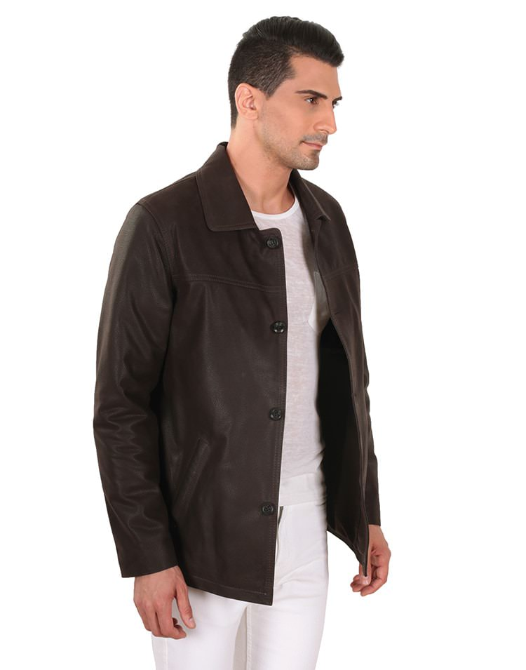 DUPONT MEN LEATHER JACKET