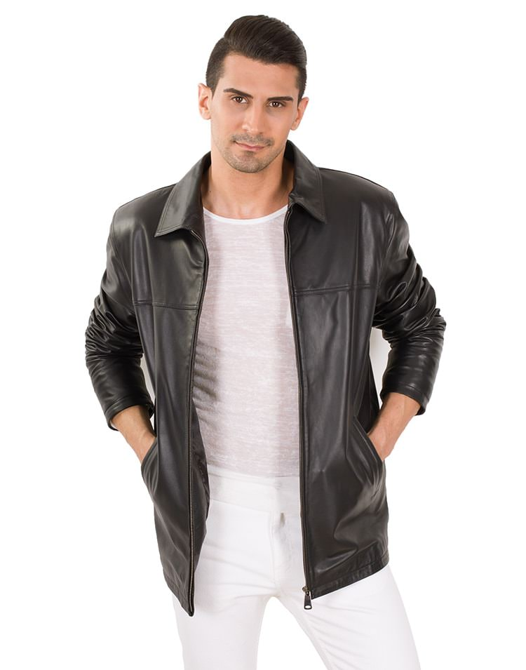 MORGAN MEN LEATHER JACKET