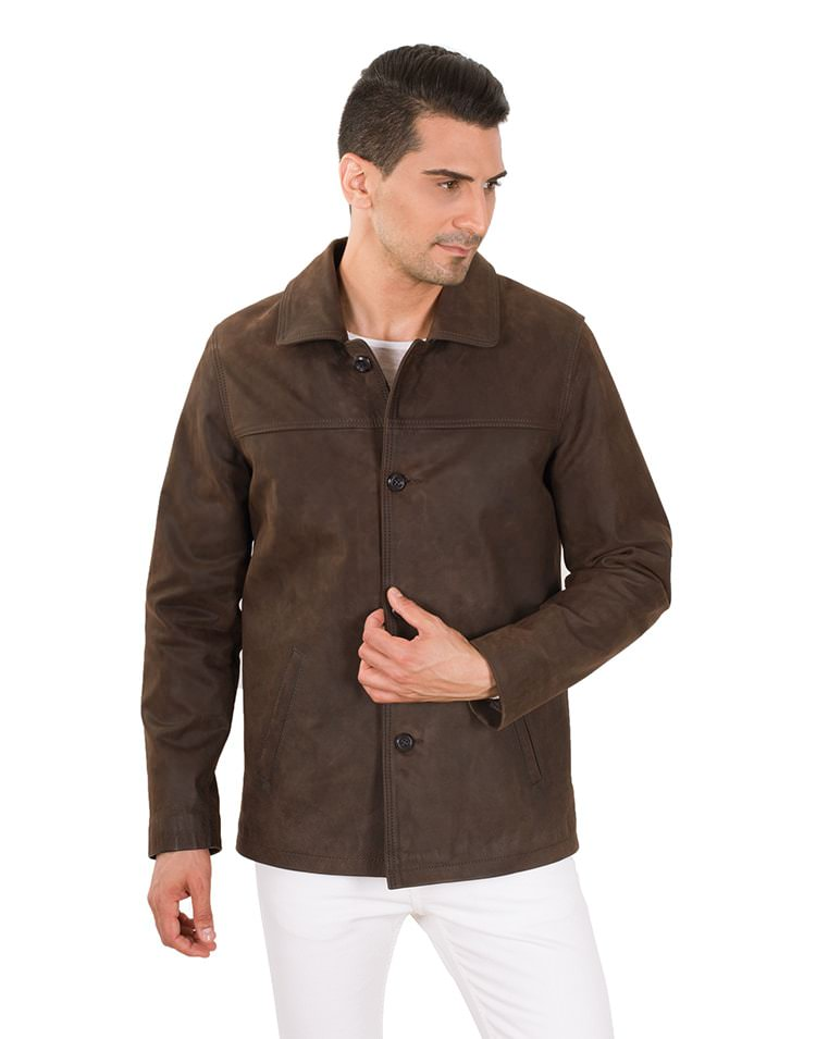 RADNIK MEN LEATHER JACKET