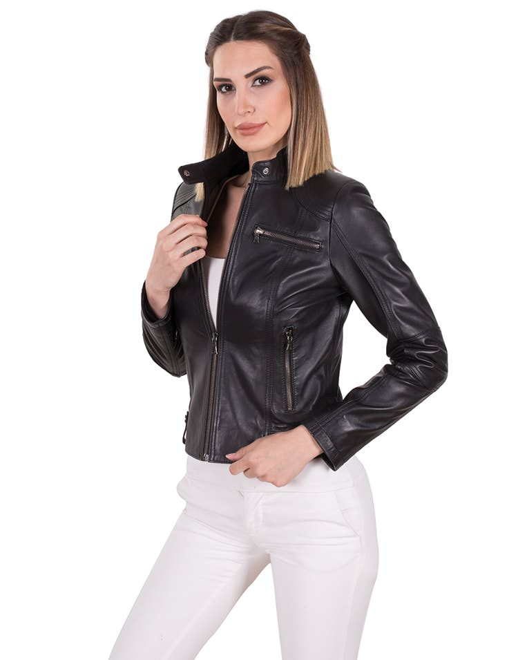 DADA WOMEN LEATHER JACKET