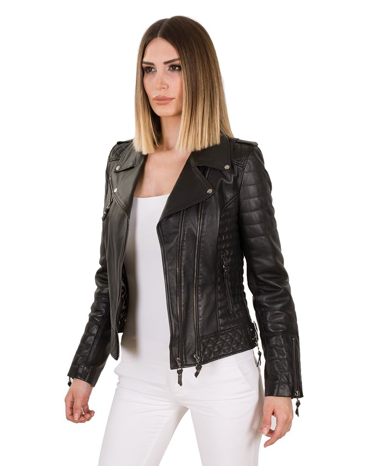 LEVANTE WOMEN LEATHER JACKET