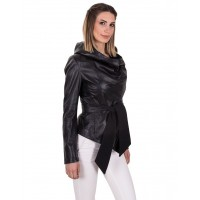 HELLY WOMEN LEATHER JACKET