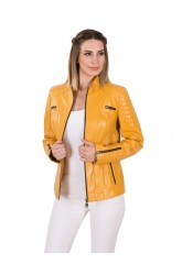 MAYA WOMEN LEATHER JACKET